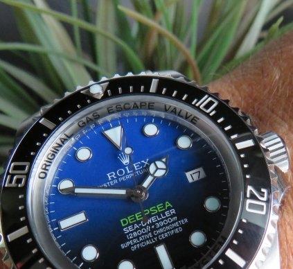 Deep Blue 116660 Rolex Deepsea