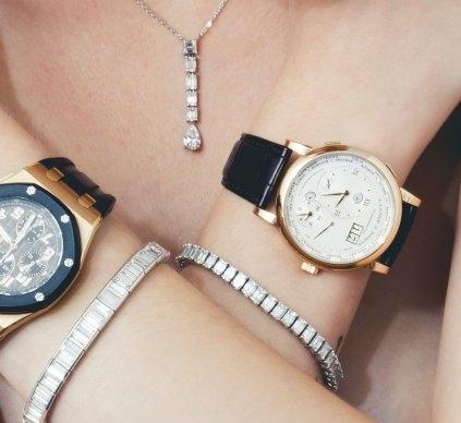 Audemars Piguet Rose Gold - Diamond Tennis Bracelets - A. Lange & Sohne