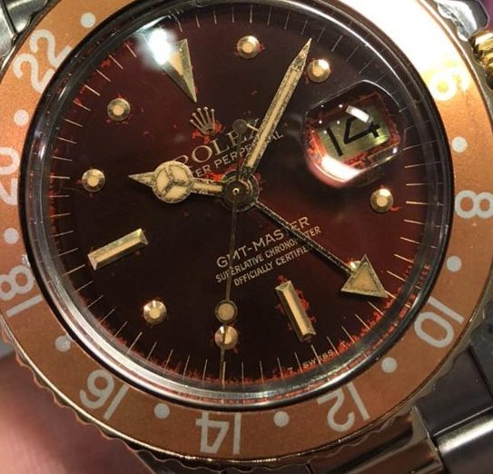 A vintage GMT Master from 1978 1