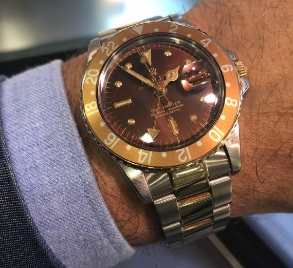 A vintage GMT Master from 1978 4