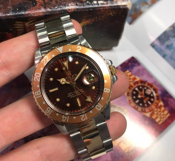 A vintage GMT Master from 1978