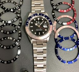 Rolex GMT with a Pepsi bezel