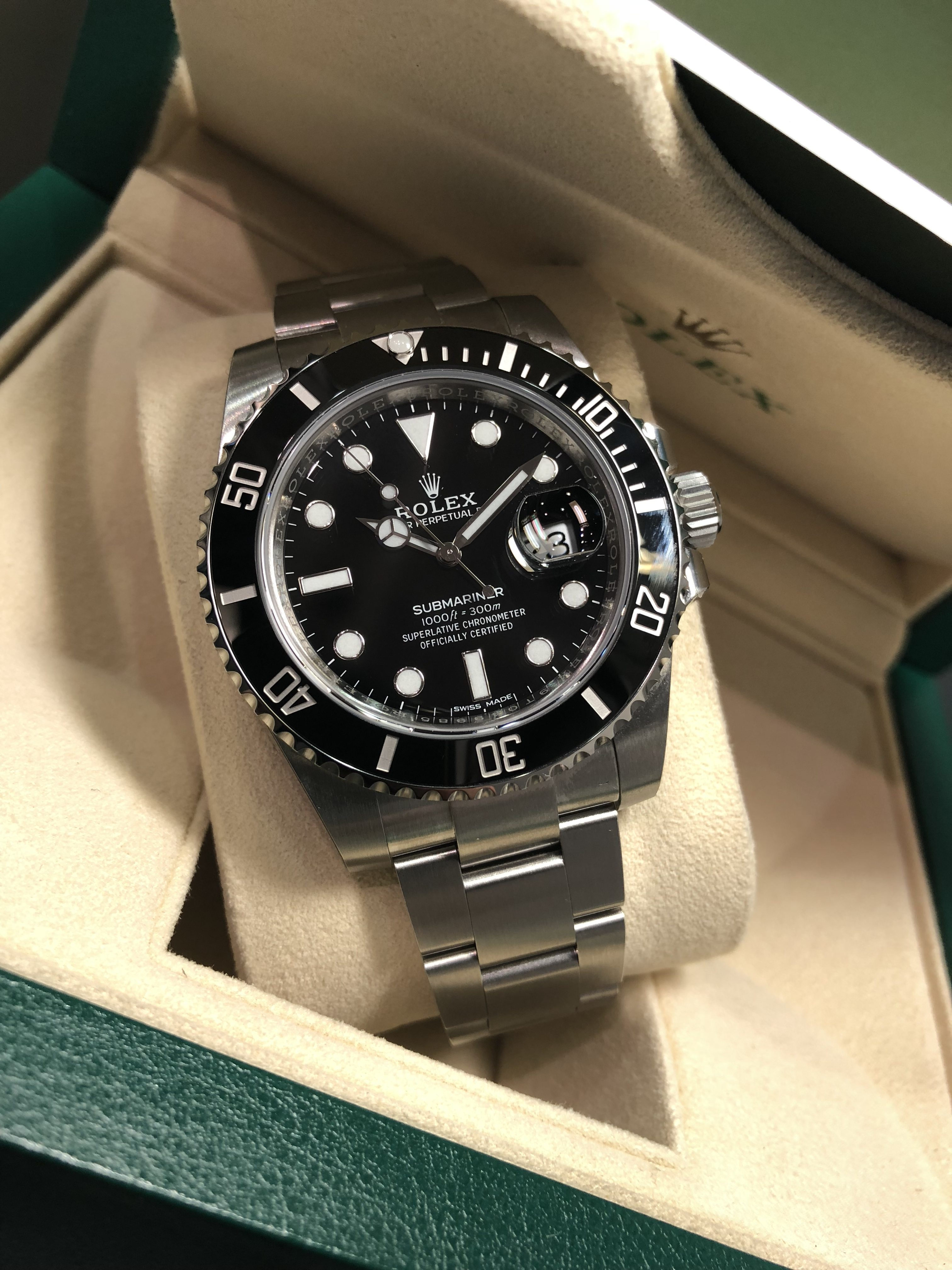 Used Rolex Submariner >> ROLEX SUBMARINER DATE 116610LN - Carr Watches