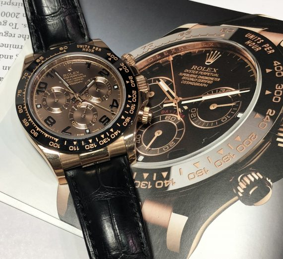 Everose Gold & Ceramic Daytona 8