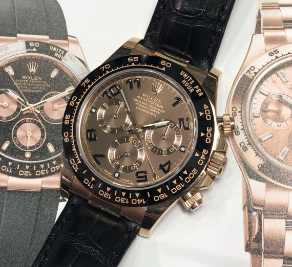 Everose Gold & Ceramic Daytona 5