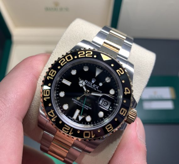 New GMT Gold & Stainless Steel 4
