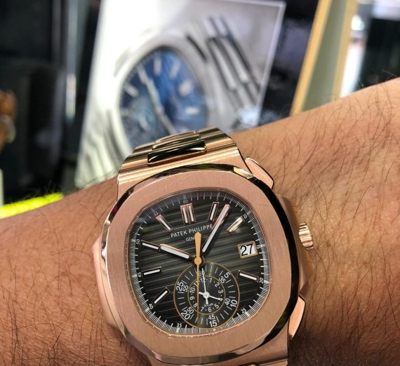 Patek Nautilis ROSE GOLD 2