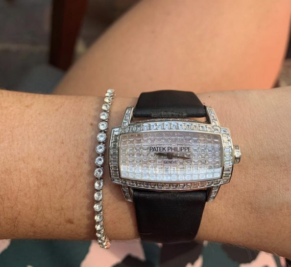 Patek Philippe fully diamond set Gondolo 4993g 9