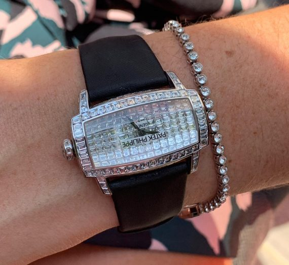 Patek Philippe fully diamond set Gondolo 4993g 10