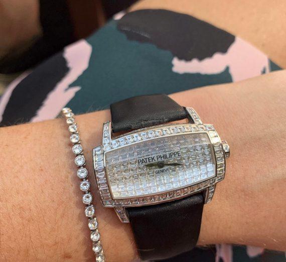 Patek Philippe fully diamond set Gondolo 4993g 8