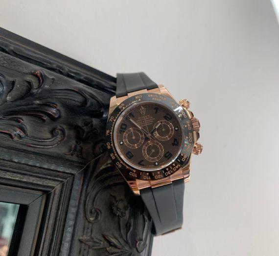 Rolex 18ct Everose Gold  ceramic bezel 116515LN 2