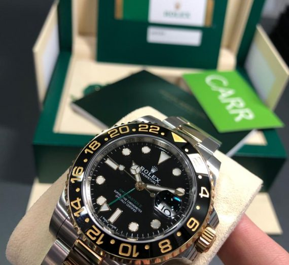 Rolex 18ct Yellow Gold and stainless steel GMT Master 116713LN 6