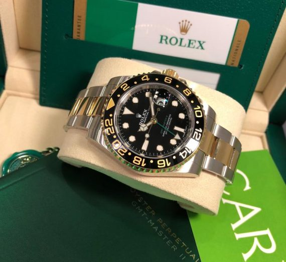 Rolex 18ct Yellow Gold and stainless steel GMT Master 116713LN 7