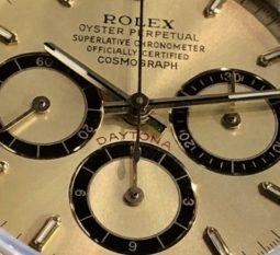 Vintage Rolex Daytona Dial