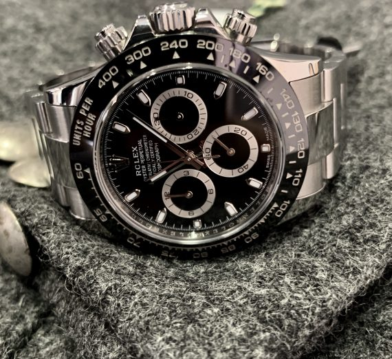 ROLEX DAYTONA STAINLESS STEEL WITH THE CERAMIC BEZEL