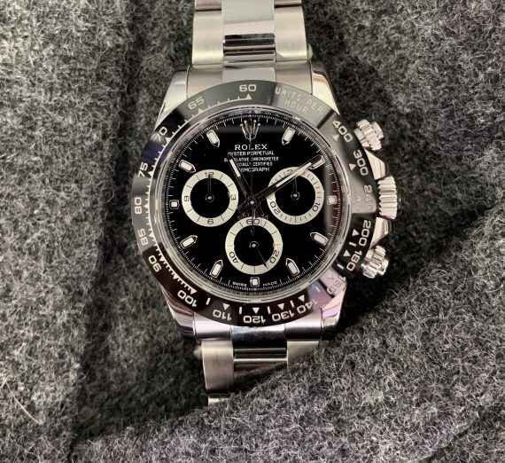 ROLEX DAYTONA STAINLESS STEEL WITH THE CERAMIC BEZEL 2