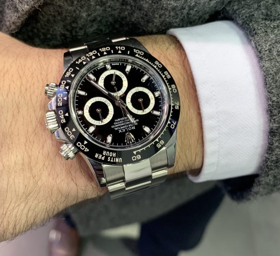 ROLEX DAYTONA STAINLESS STEEL WITH THE CERAMIC BEZEL 6