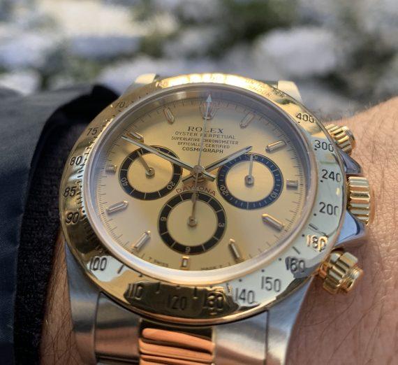 Rolex Cosmograph Daytona Steel & Gold El Primero