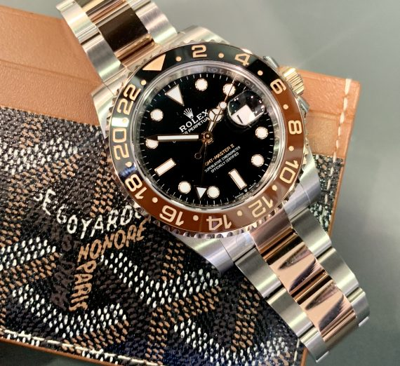 ROLEX GMT II 'ROOTBEER' 126711 CHNR 2