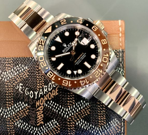 ROLEX GMT II 'ROOTBEER' 126711 CHNR