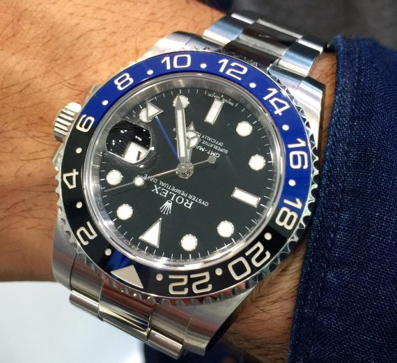 Rolex GMT-Master II Batman 3