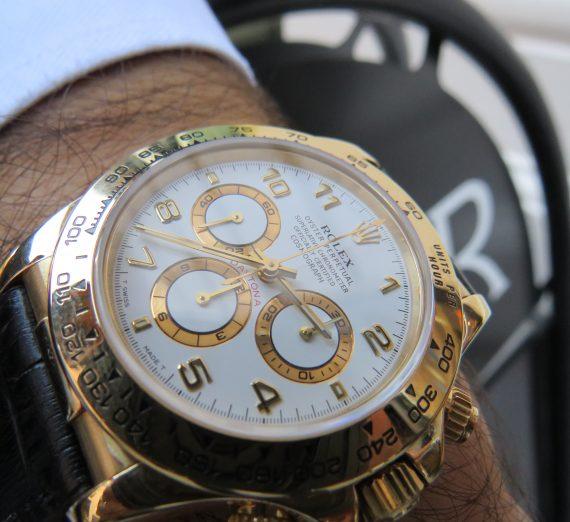 Rolex Gold Zenith Daytona 3