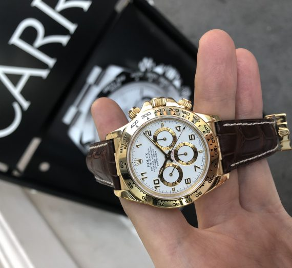Rolex Gold Zenith Daytona 4