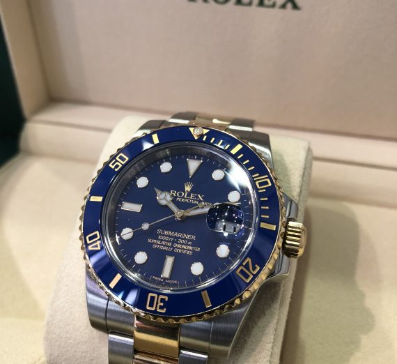 Rolex Submariner Steel & Gold b 1