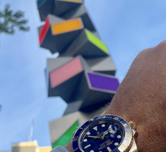 Rolex Submariner Steel & Gold Ceramic bezel 3