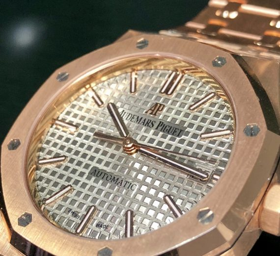 Rose Gold Audemars Piguet 3