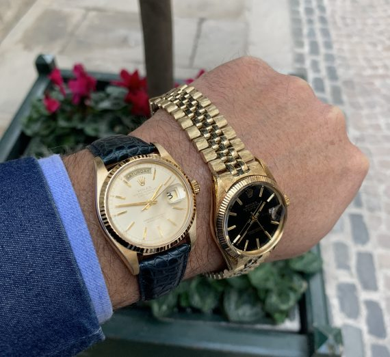 Vintage Rolex Gold oyster perpetual date 3