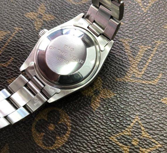 Vintage Rolex  stainless steel datejust P logo 1979 3