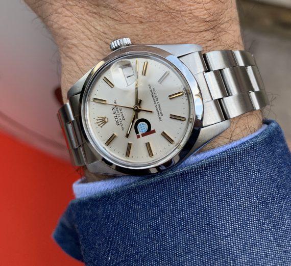 Vintage Rolex  stainless steel datejust P logo 1979 4