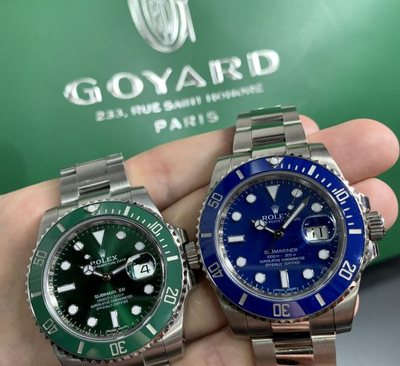 A Rolex Submariner green dial and bezel 2