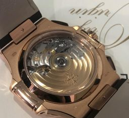 Patek Philippe Sapphire Case Back To View The Hand Built Movement