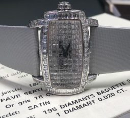Elegant Ladies Diamond Dial Patek Phillipe