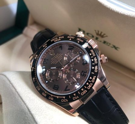Rose Gold Daytona 116515LN Chocolate Dial