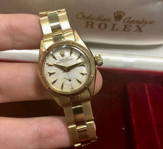 Ladies Vintage Rolex Yellow Gold 1