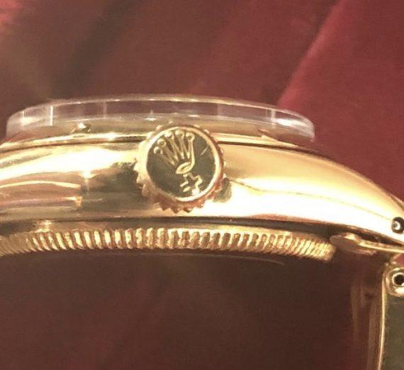 Ladies Vintage Rolex Yellow Gold 2