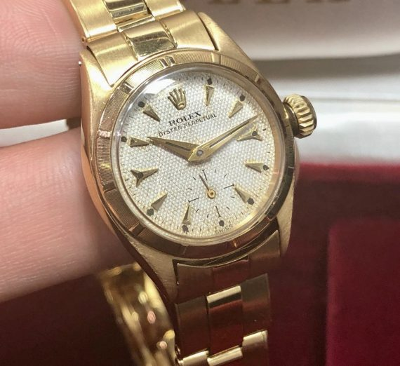 Ladies Vintage Rolex Yellow Gold 4