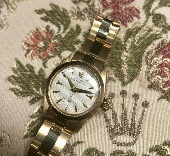 Ladies Vintage Rolex Yellow Gold