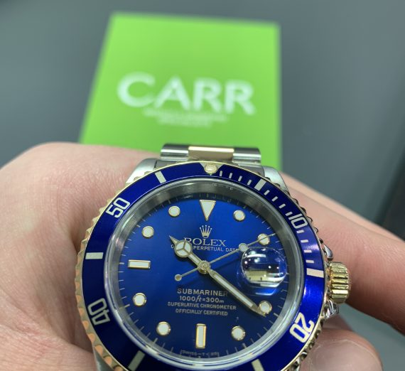 Rolex 18ct gold and steel Submariner from 1995 2