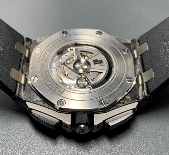 Royal Oak Offshore with Carbon case and ceramic bezel  26400AU.OO.A002CA.01