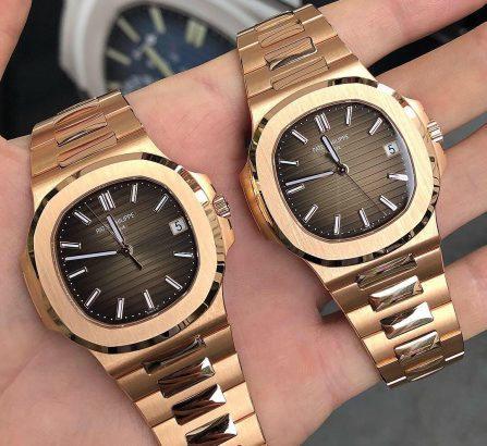 Pair of Patek Phillipe Rose Gold 5711
