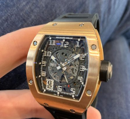 RM Rose Gold RM010