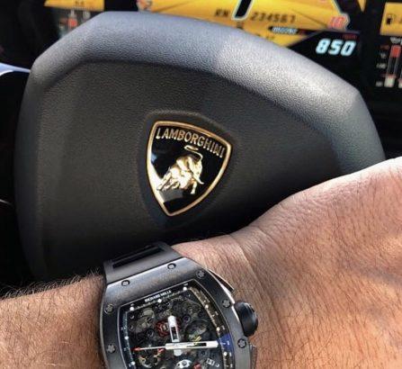Richard Mille RM011-FM Americas Limited Edition / Lamborghini Aventador