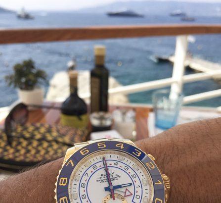 Gold Yachtmaster II 116688 - Hotel du Cap-Eden-Roc