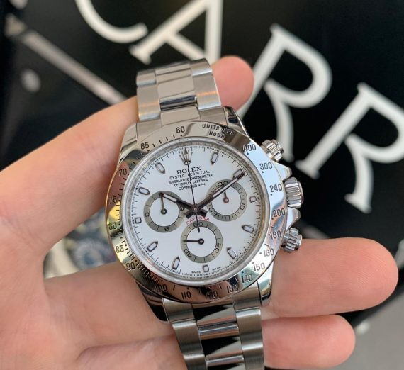 Rolex Daytona 116520 Stainless Steel white Sial