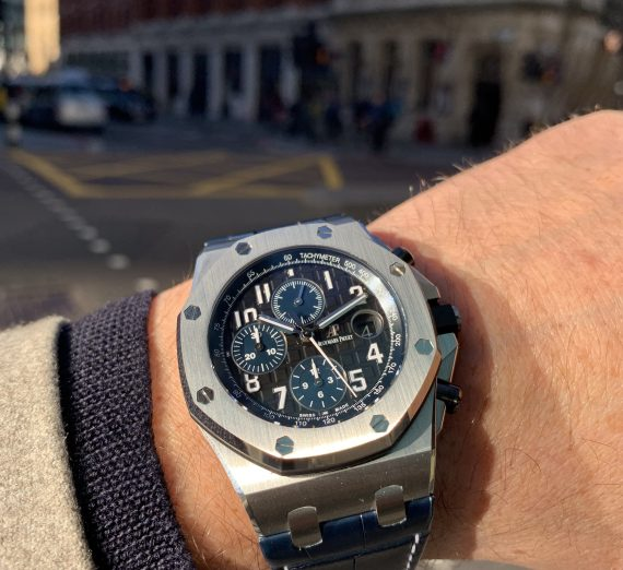 Audemars piguet offshore chronograph Batman 26470ST 1