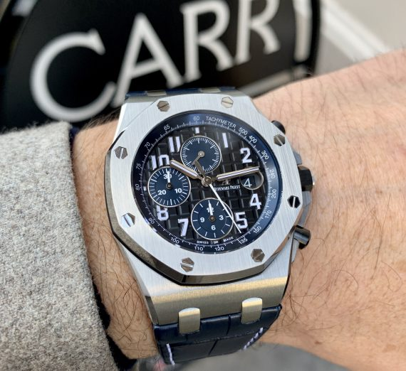 Audemars piguet offshore chronograph Batman 26470ST 4